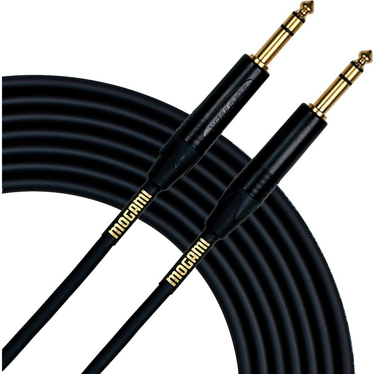 Mogami Gold TRS Patch Cable 3 Feet