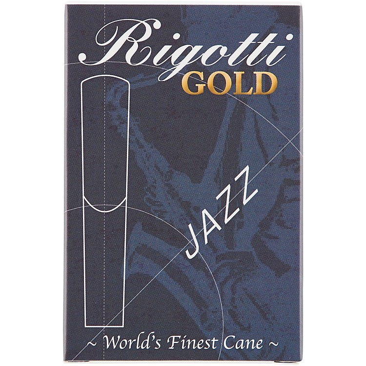 Rigotti Gold Tenor Saxophone Reeds Strength 2.5 Medium