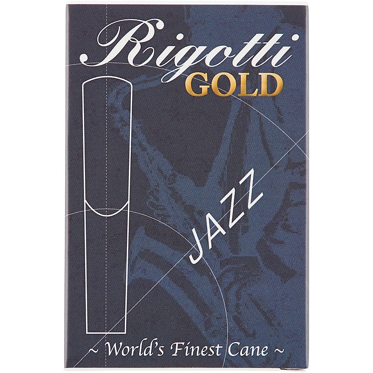 Rigotti Gold Tenor Saxophone Reeds Strength 3.5 Medium