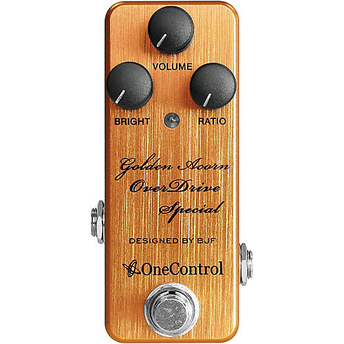 One Control Golden Acorn Overdrive Special Effects Pedal-thumbnail