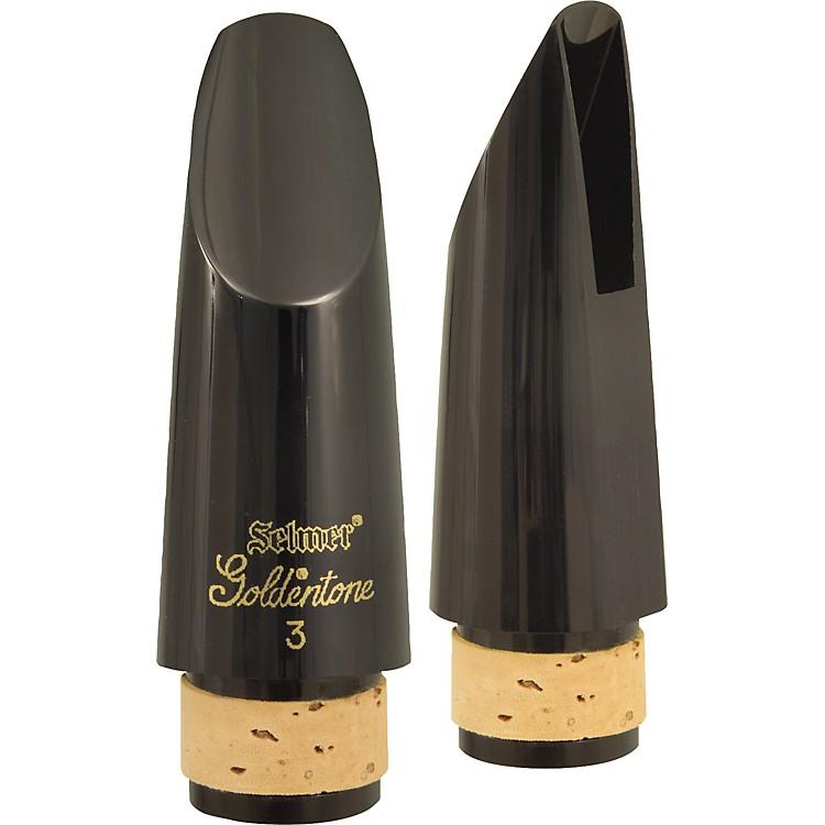 SelmerGoldentone Bb Clarinet Mouthpiece#3 Facing