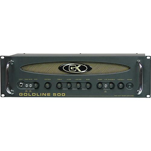 Gallien-Krueger Goldline 500 Bass Head