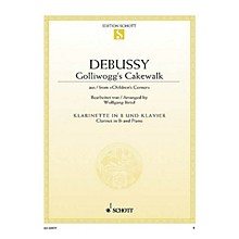 Schott Golliwogg's Cakewalk (from Children's Corner for Clarinet and Piano) Woodwind Solo Series Softcover
