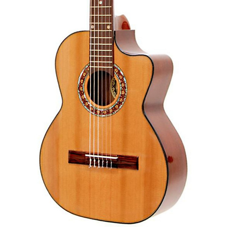 Paracho Elite Guitars Gonzales 6 String Requinto Natural