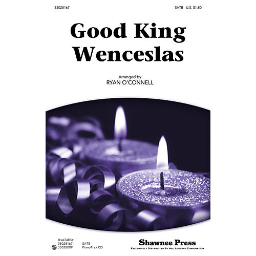 Shawnee Press Good King Wenceslas SATB arranged by Ryan O'Connell-thumbnail