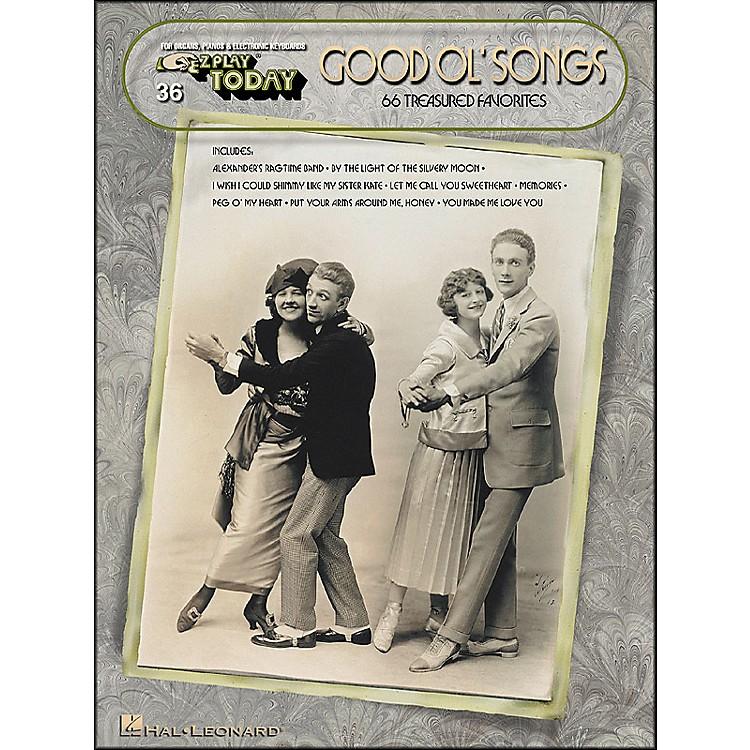 Hal LeonardGood Ol Songs (66 Treasured Favorites) E-Z Play 36