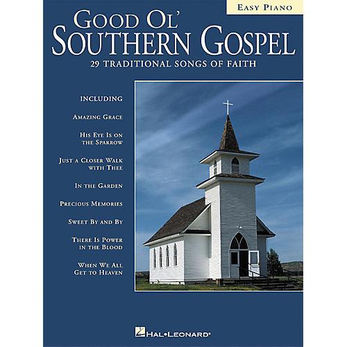 Hal Leonard Good Ol' Southern Gospel For Easy Piano-thumbnail