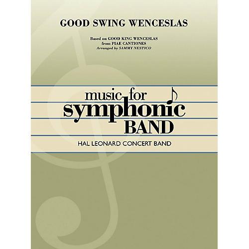Hal Leonard Good Swing Wenceslas Concert Band Level 4 Arranged by Sammy Nestico-thumbnail