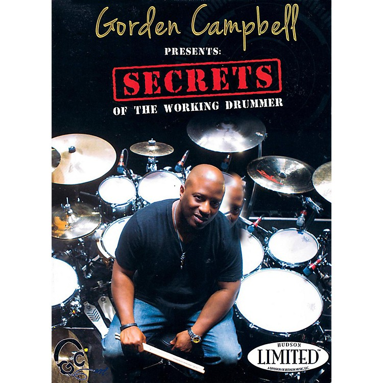 Hudson Music Gorden Campbell - Secrets of the Working Drummer DVD