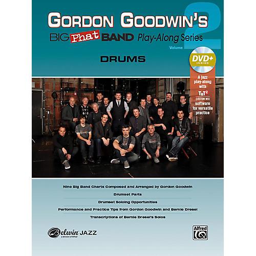 Alfred Gordon Goodwin's Big Phat Band Play-Along Series Drums Vol. 2 Book & DVDRom-thumbnail