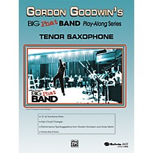 Alfred Gordon Goodwin's Big Phat Band Play Along Series Tenor Saxophone Book & CD