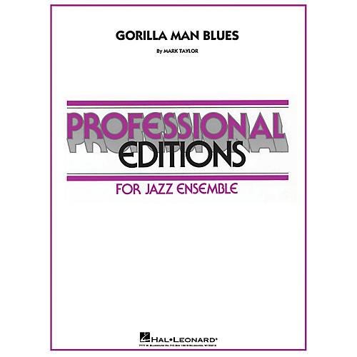 Hal Leonard Gorilla Man Blues Jazz Band Level 5 Composed by Mark Taylor-thumbnail
