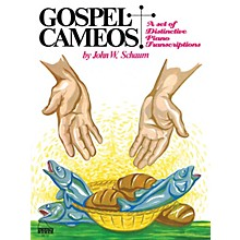 SCHAUM Gospel Cameos Educational Piano Series Softcover