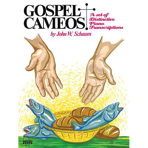 SCHAUM Gospel Cameos Educational Piano Series Softcover-thumbnail