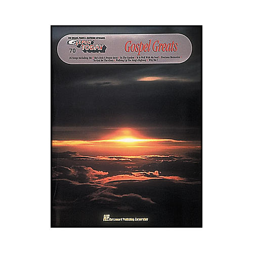 Hal Leonard Gospel Greats E-Z Play 70