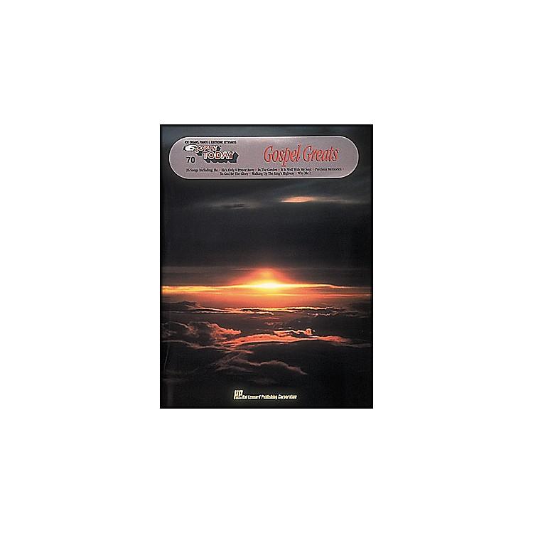 Hal LeonardGospel Greats E-Z Play 70