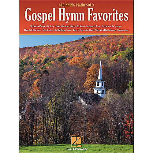 Hal Leonard Gospel Hymn Favorites - Beginning Piano Solos-thumbnail