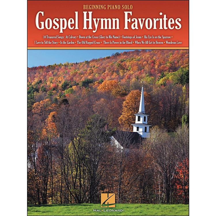 Hal LeonardGospel Hymn Favorites - Beginning Piano Solos
