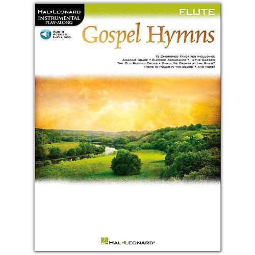 Hal Leonard Gospel Hymns For Flute Instrumental Play-Along Book/Audio Online-thumbnail