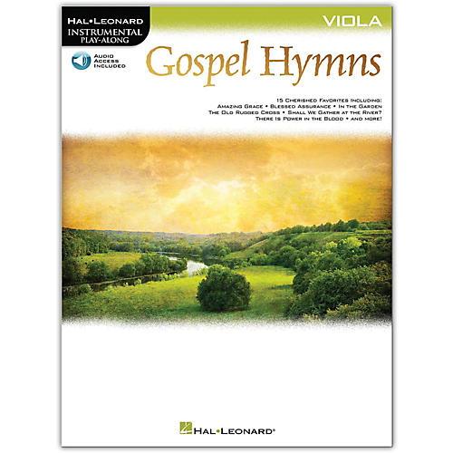 Hal Leonard Gospel Hymns For Viola Instrumental Play-Along Book/Audio Online-thumbnail
