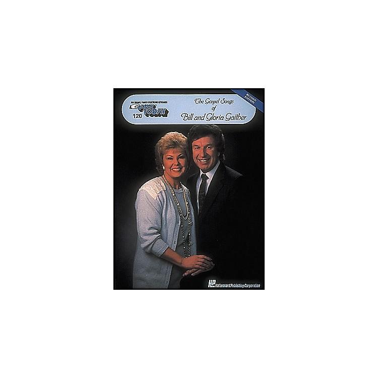 Hal LeonardGospel Songs Of Bill & Gloria Gaither E-Z Play 120