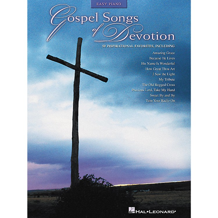 Hal Leonard Gospel Songs Of Devotion - 50 Inspirational Favorites For Easy Piano