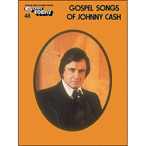 Hal Leonard Gospel Songs Of Johnny Cash E-Z Play 48
