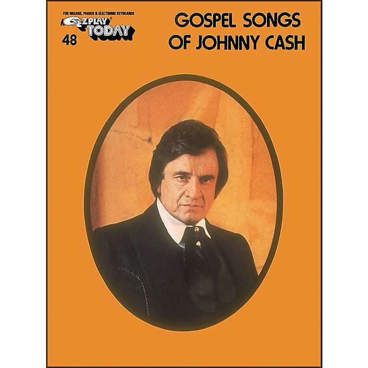 Hal LeonardGospel Songs Of Johnny Cash E-Z Play 48