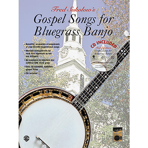 Alfred Gospel Songs for Bluegrass Banjo Tab Book : Musicianu0026#39;s Friend