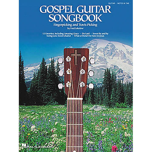 Hal Leonard Gospel Travis Fingerpicking Guitar Tab Songbook