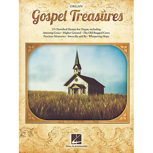 Hal Leonard Gospel Treasures Organ Series Softcover