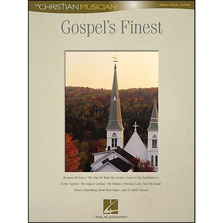 Hal LeonardGospel's Finest - The Christian Musician arranged for piano, vocal, and guitar (P/V/G)
