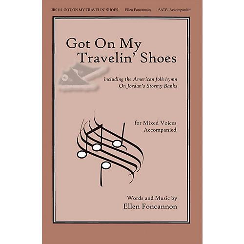 John Rich Music Press Got on My Travelin' Shoes SATB composed by Ellen Foncannon-thumbnail