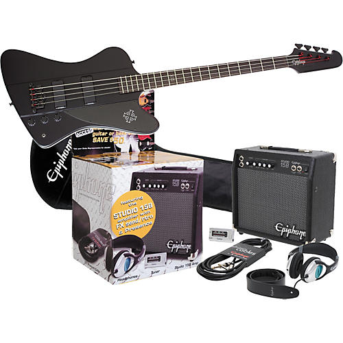 Epiphone Goth Thunderbird IV All Access Bass Pack