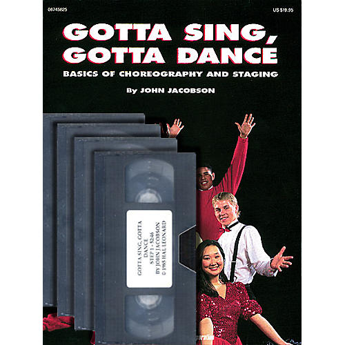 Hal Leonard Gotta Sing, Gotta Dance: Basics of Choreography and Staging (Video 4-Pack) by John Jacobson-thumbnail