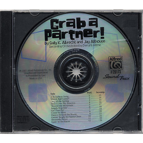Alfred Grab A Partner Soundtrax Cd