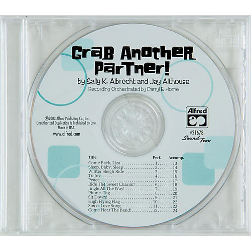 Alfred Grab Another Partner Soundtrax Cd