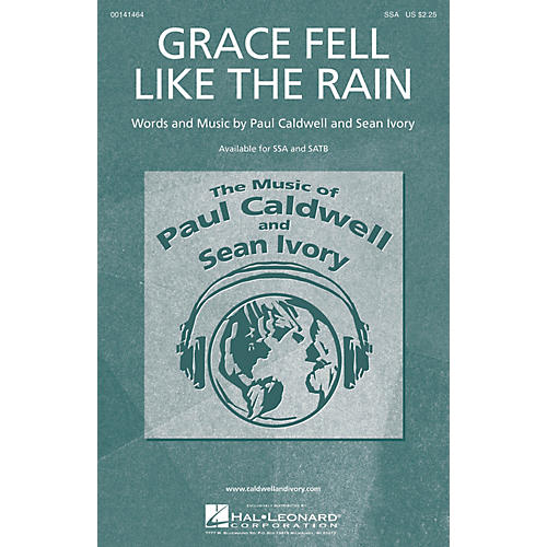Caldwell/Ivory Grace Fell Like the Rain SSA composed by Paul Caldwell-thumbnail