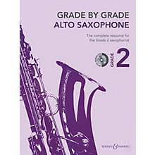 Boosey and Hawkes Grade by Grade - Alto Saxophone (Grade 2) Boosey & Hawkes Chamber Music Series Book with CD