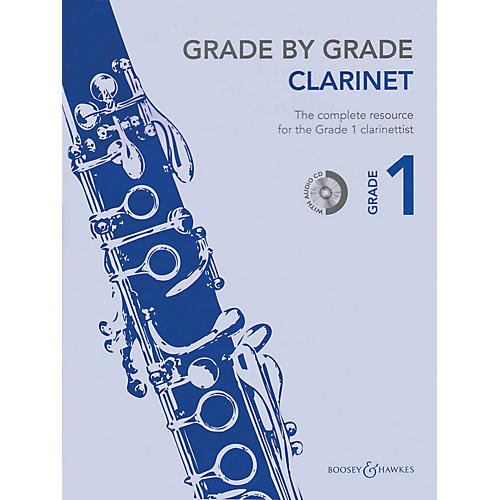 Boosey and Hawkes Grade by Grade - Clarinet (Grade 1) Boosey & Hawkes Chamber Music Series BK/CD-thumbnail