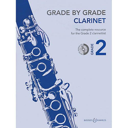 Boosey and Hawkes Grade by Grade - Clarinet (Grade 2) Boosey & Hawkes Chamber Music Series BK/CD-thumbnail