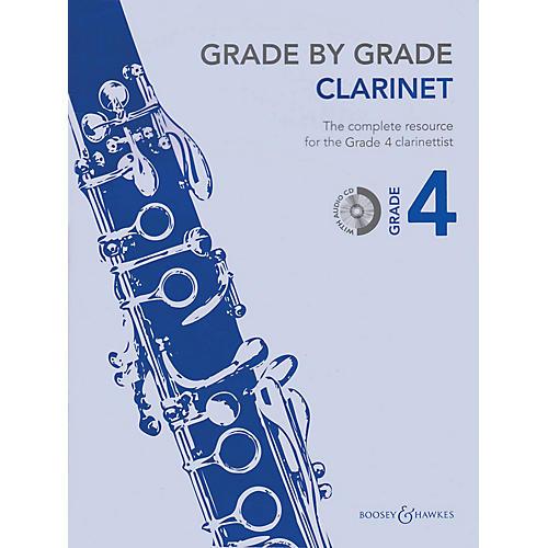 Boosey and Hawkes Grade by Grade - Clarinet (Grade 4) Boosey & Hawkes Chamber Music Series BK/CD-thumbnail