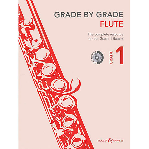 Boosey and Hawkes Grade by Grade - Flute (Grade 1) Boosey & Hawkes Chamber Music Series Softcover with CD-thumbnail