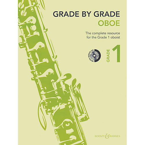 Boosey and Hawkes Grade by Grade - Oboe (Grade 1) Boosey & Hawkes Chamber Music Series BK/CD-thumbnail