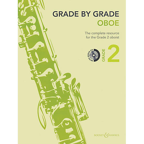 Boosey and Hawkes Grade by Grade - Oboe (Grade 2) Boosey & Hawkes Chamber Music Series BK/CD