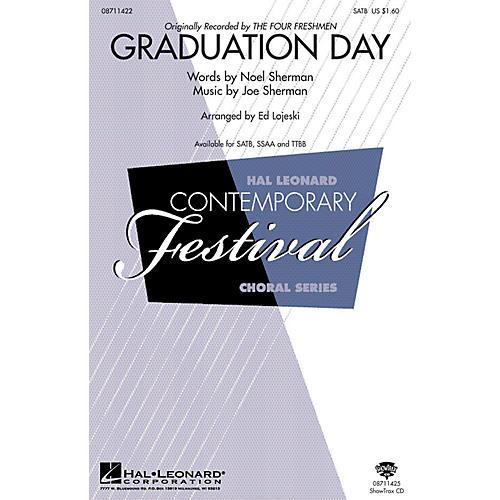 Hal Leonard Graduation Day SATB arranged by Ed Lojeski