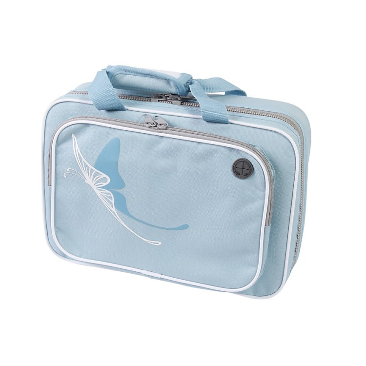 Kaces Grafix Blue Butterfly Series Polyfoam Clarinet Case