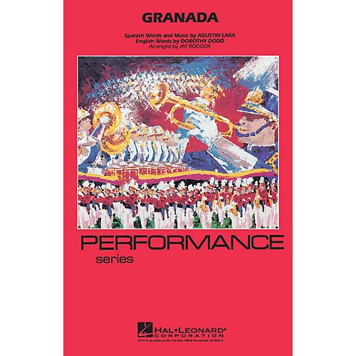 Hal Leonard Granada Marching Band Level 3-4 Arranged by Jay Bocook