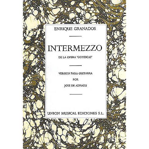 Music Sales Granados Intermezzo From Goyescas (azpiazu) Music Sales America Series-thumbnail