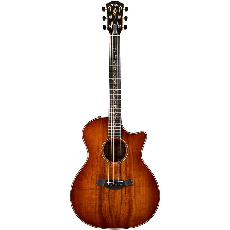 Taylor Grand Auditorium 2013 K24ce Acoustic-Electric Guitar Shaded Edge Burst